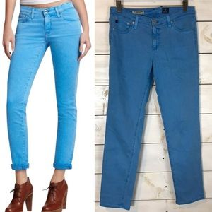 AG Adriano Goldschmied | Blue Stevie Ankle Jeans